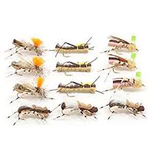 Buy Trout Fly Assortment Foam Body High Visibility