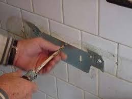 Old Wall Sink Bracket Screw In New Bracket How To Install Mount F77