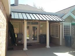 metal awnings metal awning