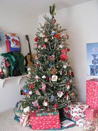 Beautiful Traditional Christmas Tree