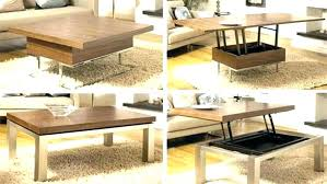coffee table that converts to dining table coffee table turns into dining table coffee table into