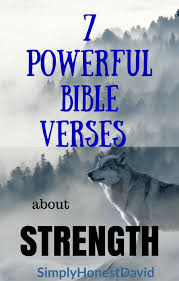 Bible Quotes On Strength New 48 Powerful Bible Verses About Strength SimplyHonestDavid