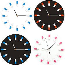 large office wall clocks. High Pills Style Digit Kitchen Office Home Decor Wallclock Decorative Wall Cheap Large Clocks D