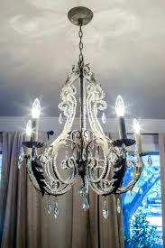 diy crystal chandelier easy tutorial chandeliers crystals and full size of creative lamp shade ideas make your own crystal chandelier how