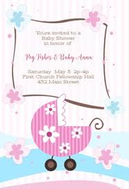 baby shower invitations for girls templates baby shower invitation templates free greetings island