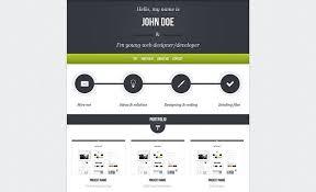 Portfolio Website Templates Unique 48 Best Single Page Website Templates Web Graphic Design Bashooka