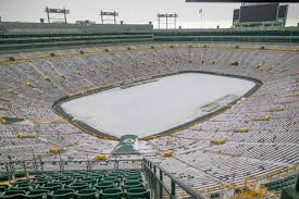 Lambeau Field - Snow Covered - The Lost ...