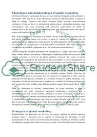 global marketing essay global relationship marketing essay global  global marketing essayglobal business situation and opportunity analysis marketing plan disney w essay wilmington de global