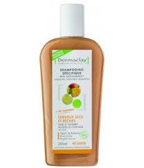 Shampoing artisanal hydratant, adoucissant et gainant 100% à bases dhuiles et de plantes. Shampoing Traitant Cheveux Secs Et Reches Dermaclay 250ml