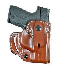 desantis osprey iwb or owb holster glock 19 23 32 tan leather right hand