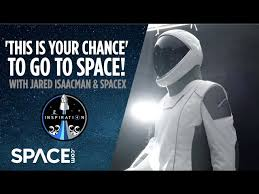 For spacex's inspiration4 mission, jared isaacman is giving seats on the crew dragon spaceship to a healthcare worker, an entrepreneur, and a jared isaacman at spacex in hawthorne, california. This Is Your Chance To Go To Space With Jared Isaacman And Spacex Youtube