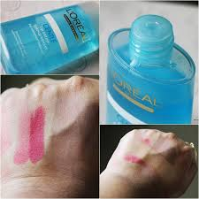 l oreal gentle lip and eye remover for waterproof make up 125ml โลช นทำความสะอาดผ วรอบดวงตาและร มฝ ปาก ขจ ดคราบเคร องสำอางและส งสกปรกอย างล ำล ก