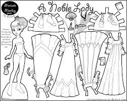 Small Picture Marisole Monday Paper Dolls in Black and White Click Here