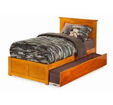 Nantucket Bedroom Furniture Nantucket Bed Flat Panel Footboard Trundle Bed Caramel Latte