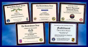 Samples Of Awards Certificates Individual Award Certificate Military Training Unit Awards