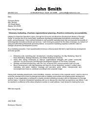 Cover Letter Example Marketing Position Mediafoxstudio Com
