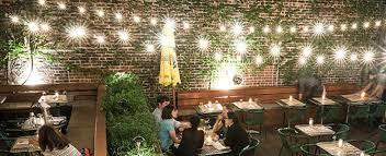 Restaurant bar lighting Low Ceiling Restaurant Bar String Lights Feature Bright Ideas Partylightscom Commercial String Lights Guide For Bars Restaurnts Bright Ideas