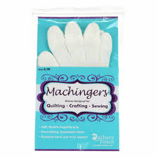 Amazon.com: Machingers Quilting Gloves for Free-Motion Sewing &  Adamdwight.com