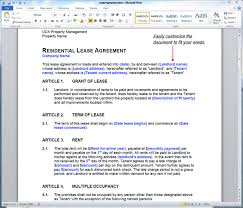 Uda Constructiondocs Property Management Forms Lease Agreements