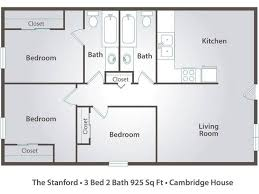 3 Bedroom Floor Plans Cool Inspiration Design