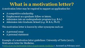 For turkey scholarship, motivation letter plays a big role of winning or losing the scholarship. Motivation Letter Scholarships And College Applications