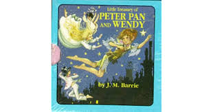 """Little Treasury of """"Peter Pan and Wendy"""" by J.M. Barrie"""