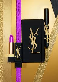 essentials from the holiday look makeup collection from yves saint lau beauty