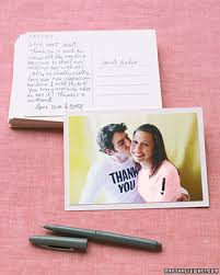 Wedding Thank You Notes 9 Tips For Writing Thank You Notes For Wedding Gifts Martha