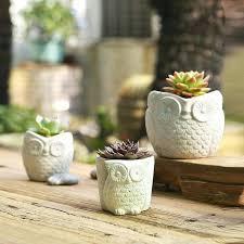 s cement pots diy towel planters cement pots
