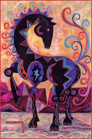 lrs animals in art nancy glenn nieto desert horse