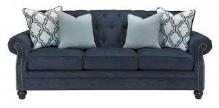 LaVernia Navy Sofa Sofas