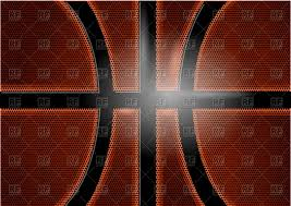 Backgrounds Basketball Basketball Background Closed Up View Of Ball Vector Illustration
