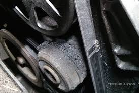 Serpentine Belt Squeal Fix   Engine Degreaser Cleaning Pulleys in addition Serpentine Belt besides BMW 135i   Serpentine Belt Issues and Fix  N54    My BMW 135i further Lexus IS GS How to Replace Your Serpentine Belt   Clublexus also What Happens If a Serpentine Belt Breaks also Here's What Happens When Your Timing Belt Snaps And How To Fix It as well When a drive belt should be replaced in your car moreover Timing Belts   Why they are important and how it affects you additionally Why Does my Engine Belt Squeal    BlueDevil Products in addition Symptoms of a Bad or Failing Timing Belt   YourMechanic Advice additionally How to Check Belts in Your Car   YourMechanic Advice. on what happens if serpentine belt breaks while driving