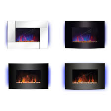 inspiring 16 style of electric wall fireplace heater