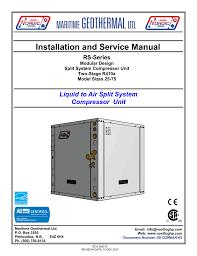Geothermal Heat Exchanger Design Rs Residential Manual Nordic Geothermal Heat Pump