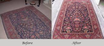 persian rug cleaning before and after