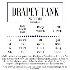 animal sizes chart tacos are my spirit animal drapey tank dt47s foreverstrong apparel
