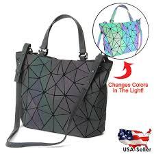 Japanese Designer Bag Geometric Issey Miyake Bao Bao Bag Japan Scale