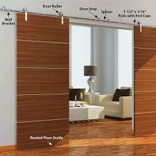 best wall mount sliding door hardware kit 55 on home remodel ideas with wall mount sliding