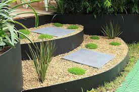 diy galvanized metal garden edging garden metal edging for gardens