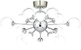 pleasurable inspiration possini euro design 15 light glass orbs ceiling ba