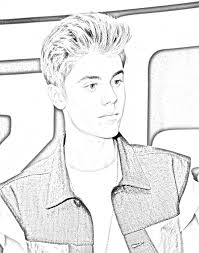 bieber coloring pages 2016 inside justin 59d07cf835bd9 on