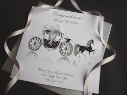handmade wedding cards personalised wedding cardspink & posh Personalised Handmade Wedding Cards handmade wedding card carriage personalised handmade wedding cards