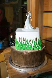 Fishing Bride And Groom Cake Topper Tradesy