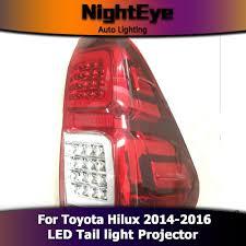 Revo Led Lights Nighteye Toyota Hilux Tail Lights 2014 2016 New Revo Led Tail Light