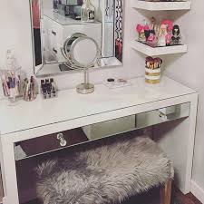 ninabella87 i wanted to share this picture of my ikea malm dressing table i ed at the beginning of january i added the mirror onto the drawer