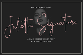 Browse by popularity, category or alphabetical listing. Julietta Signature Font 1001 Fonts