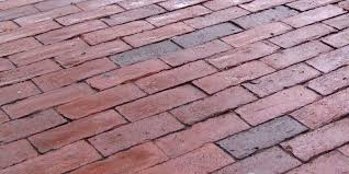 a brick patio is extremely beautiful and can be constructed from historic reclaimed brick or modern