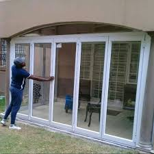 glass and aluminium sliding or folding doors repair