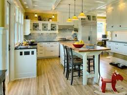 Freestanding Kitchen Island With Seating Pertaining To Small Kitchen